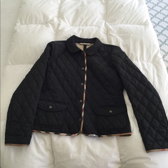 a6d30c3ea1145 Burberry Black Diamond Quilted Jacket